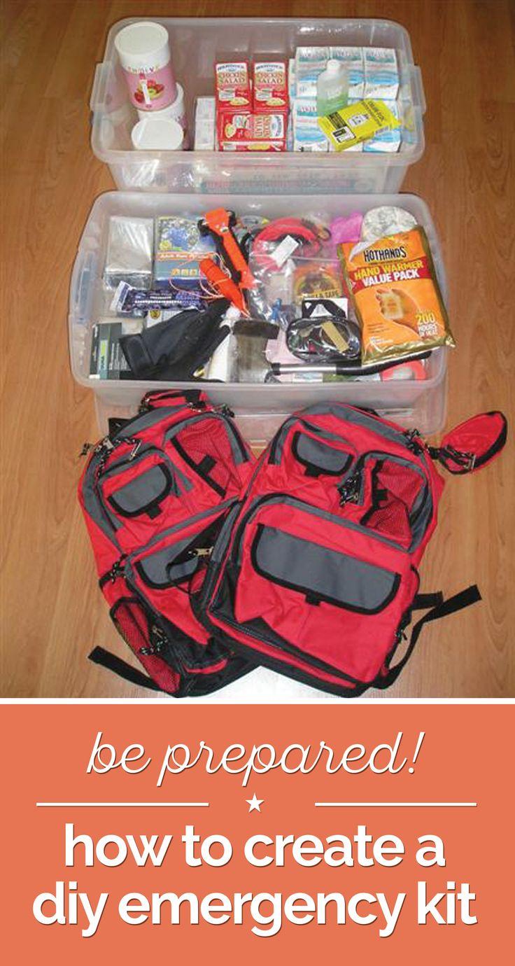 Be Prepared! How to Create a DIY Emergency Kit | thegoodstuff