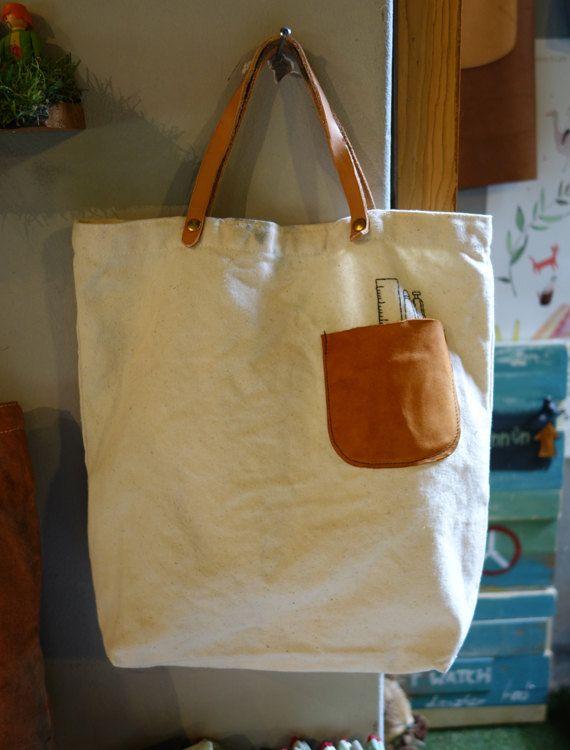 Main sac Eco coton sac de piquenique Eco par HandcraftSupply, $38.00