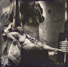 Joel0Peter Witkin: Sanitarium, New Mexico, 1983    Inspired the 2001 Alexander McQueen show VOSS