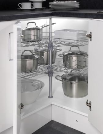 Four Seasons Kitchen Storage Solutions 270 Wire Carousel Home Improvemen