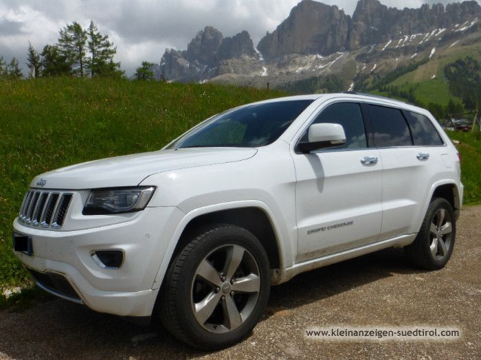 Grand Cherokee 3.0 V6 CRD 250 CV Overland weiss – Bild