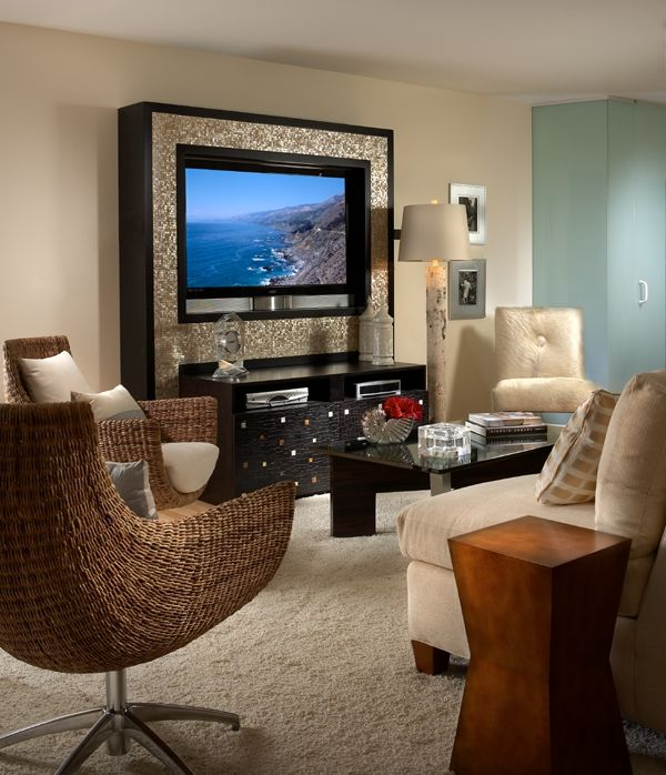 20 best images about flat panel ideas on pinterest wall - Best size flat screen tv for living room ...