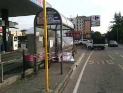 Settantacinquenne muore d'infarto alla fermata dell'autobus