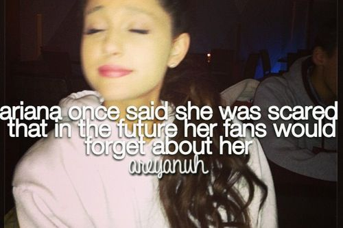 We would never, bc I & many other arinators LOVE you for LIFE! ♡