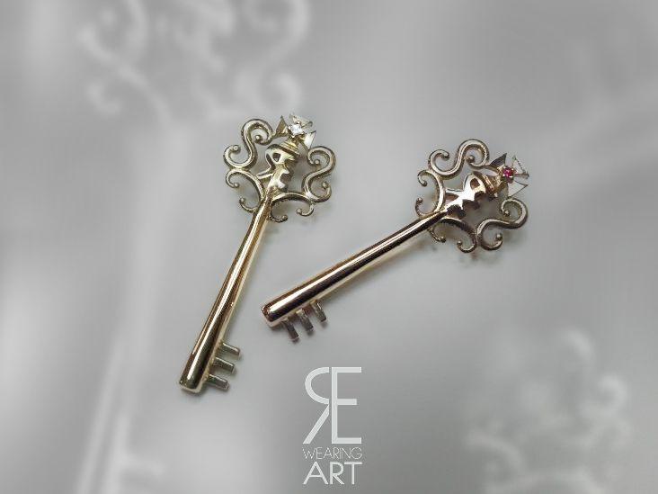 Wearing Art | Kaos Kleis, prezioso gioiello in argento o oro, by Elena Rede