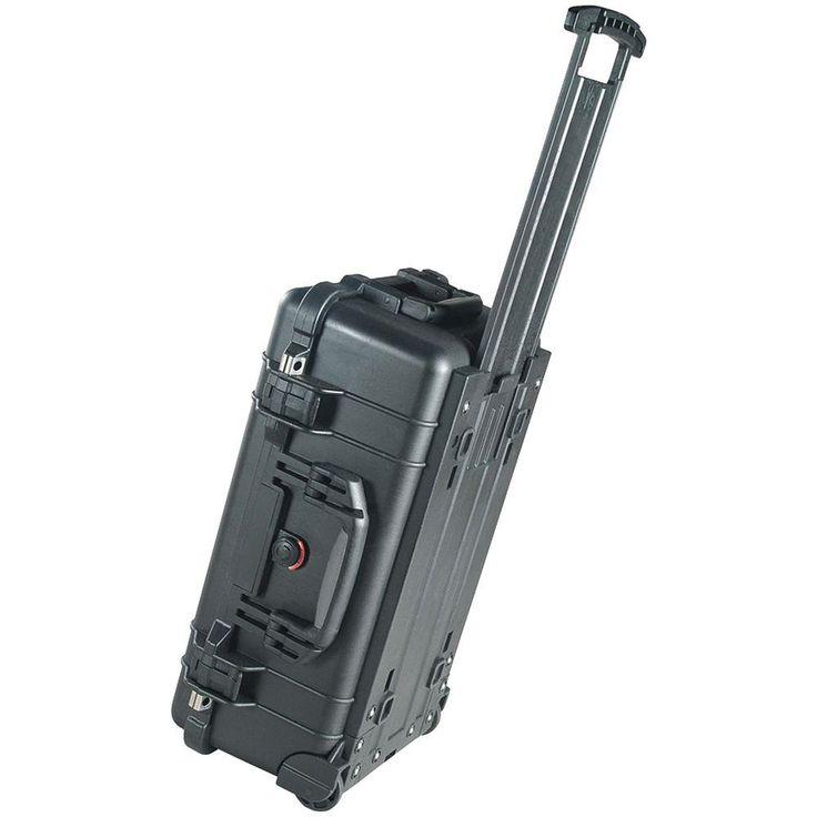1510-000-110 Faa Maximum 1510 Carry-On Deluxe Case, Black