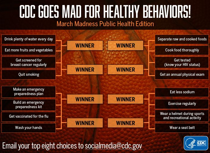 Daily 411: March Madness Public Health Edition