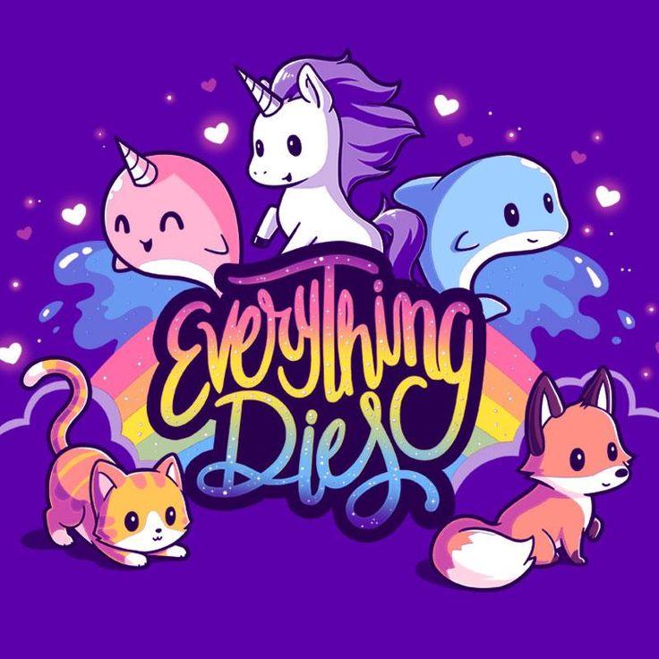 Everything Dies T-Shirt TeeTurtle