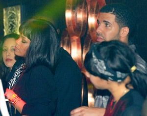 Rihanna attended Drake's concert in Paris on Feb. 24, and the two partied together at a club after the show
