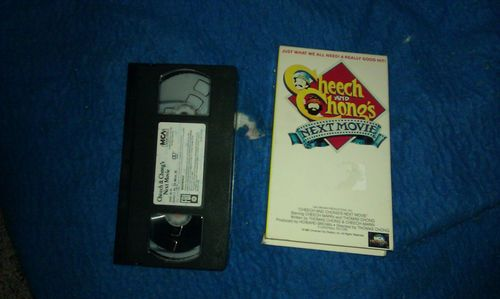 Cheech and Chong's Next Movie,vhs,good cond cond,classic stoner comedy,must have