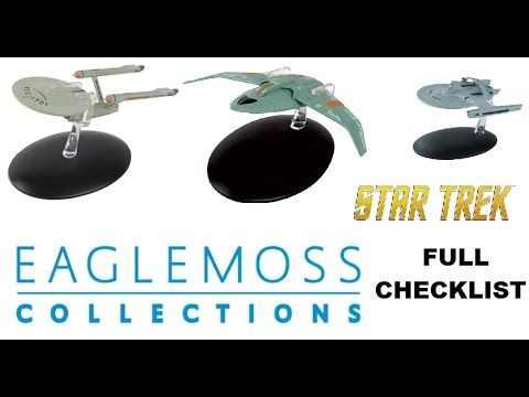 Star Trek Starships collection of models issued by Eaglemoss fortnightly , in this video we show you what models you could collect there issue number and the...