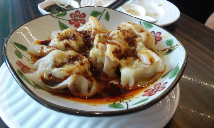 Awesome spicy dumplings in Penang. It is a bit of cliche that there is great food in Penang but it really is true.