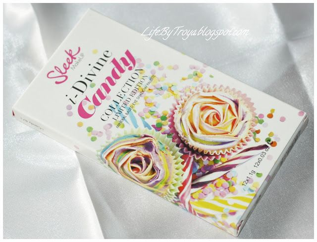 Troya's Land: GIVEAWAY:: Sleek MakeUP i-Divine Candy Collection Limited Edition Eyeshadow Palette