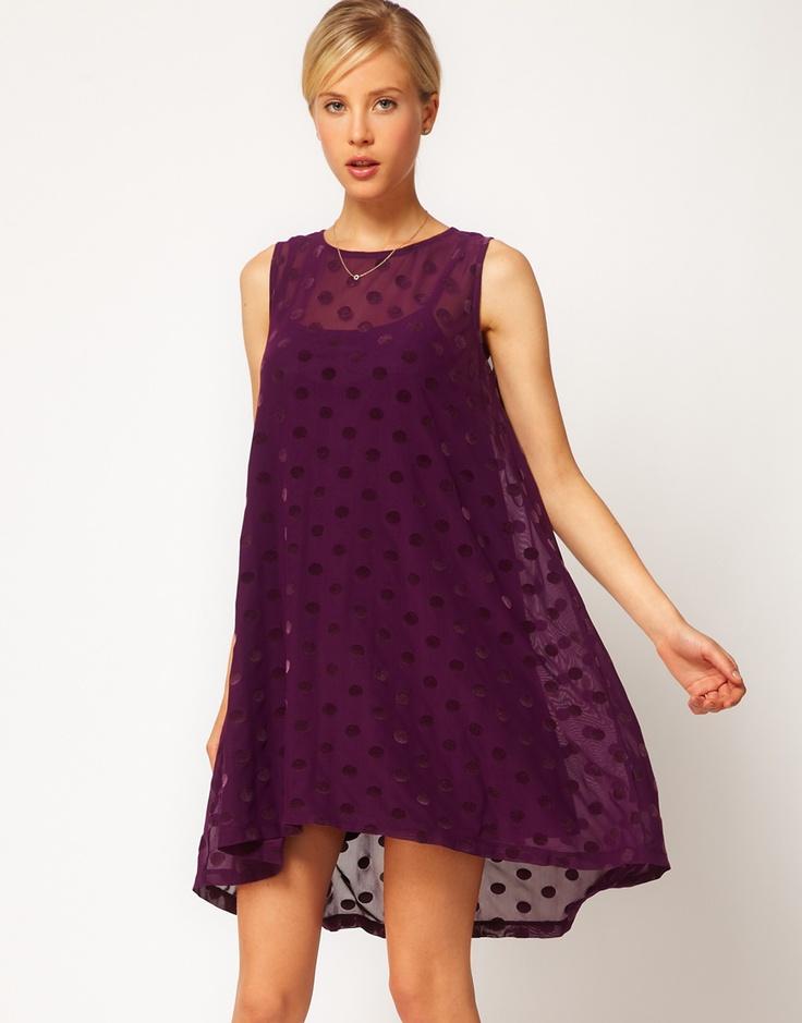 Swing Dress In Spot Mesh: Little Dresses, Asos Collection, Fashion, Cute Dresses, Swing Dress Perfect, Swings, Asos Swing Dress In Spot Mesh, Swingy Dress, Asos Dress