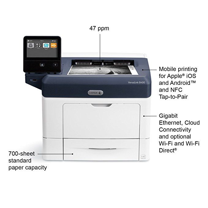 Xerox Versalink B400 Dn Black And White Laser Printer Letter