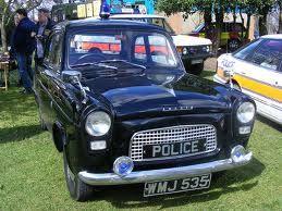 ford anglia police cars