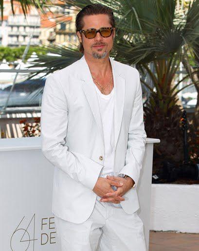 12 best White Suit images on Pinterest | All white, Brad pitt and ...