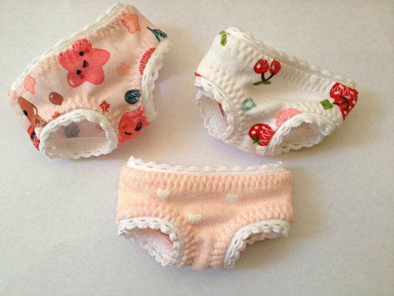Underwear for MSD BJD V.2  New Fabrics by ShirayasWardrobe on Etsy