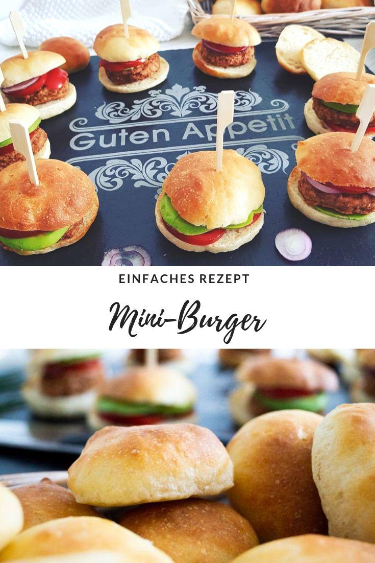 Partysnack: Schnelle leckere Mini-Burger & Verlosung von Erwin Müller