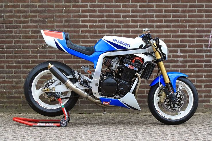 Suzuki GSXR 1100 Twisted Synergy | 99garage | Cafe Racers Customs Passion Inspiration