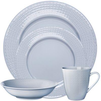 Rörstrand Swedish Grace Dinnerware in Ice - BedBathandBeyond.com