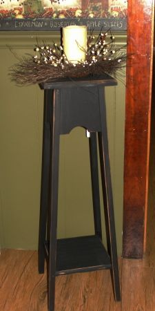 Primitive Candle Stand
