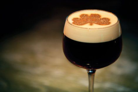 Vegan Irish Coffee.....delicious