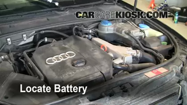 Swap In A New Battery On Your Audi A4 Quattro Audi A4 Quattro Car Maintenance Fix You