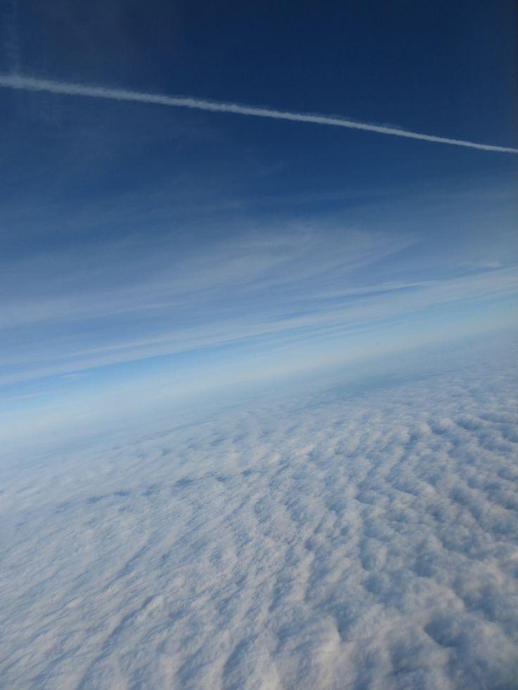 雲の上のひこうき雲
