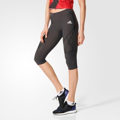 adidas - Укороченные леггинсы для бега adizero Sprintweb Three-Quarter