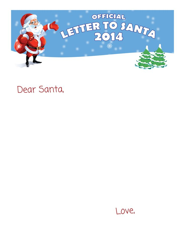 Top 25+ best Letter to santa template ideas on Pinterest Letter - printable postcard template free