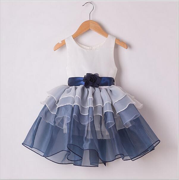 2015 новые дети девочки ну вечеринку платья младенца детей платье принцессы шифон цветочные Summern наряд, принадлежащий категории Платья и относящийся к Детские товары на сайте AliExpress.com | Alibaba Group