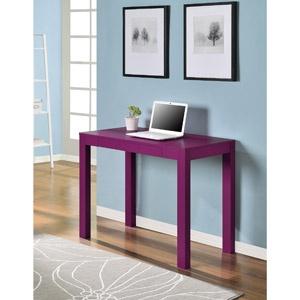 Mainstays Parsons Desk, Pink $59