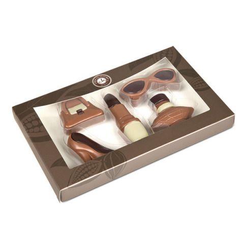 Czekoladki dla prawdziwej kobiety, czekoladowe figurki, czekolada belgijska