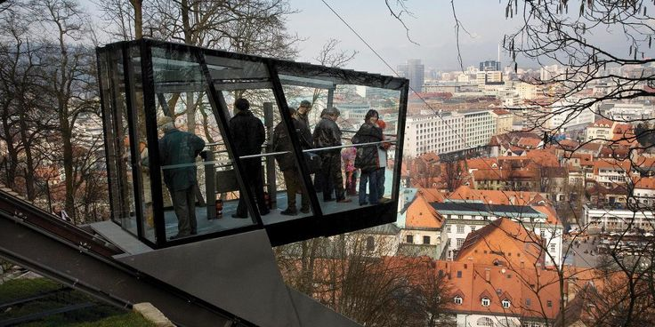 Funicular Railway: The idea, the desire and the need to build a funicular railway to connect the Ljubljana Castle with the old town centre date back more than a century.