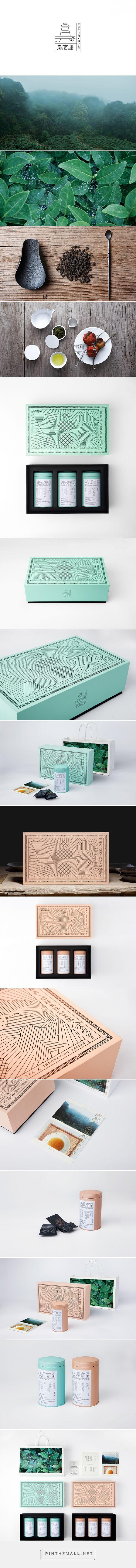 Tea Charlie packaging designed by YanYaoming - http://www.packagingoftheworld.com/2016/01/tea-charlie.html
