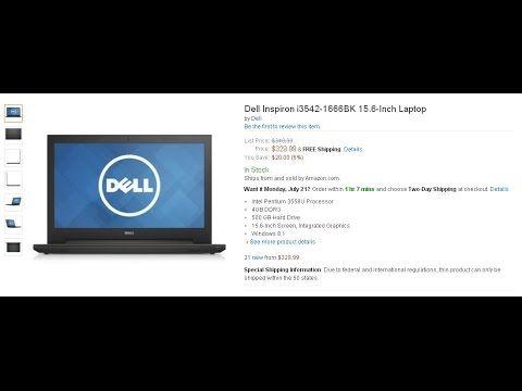 Dell Inspiron i3542 6666BK 15 6 Inch Laptop