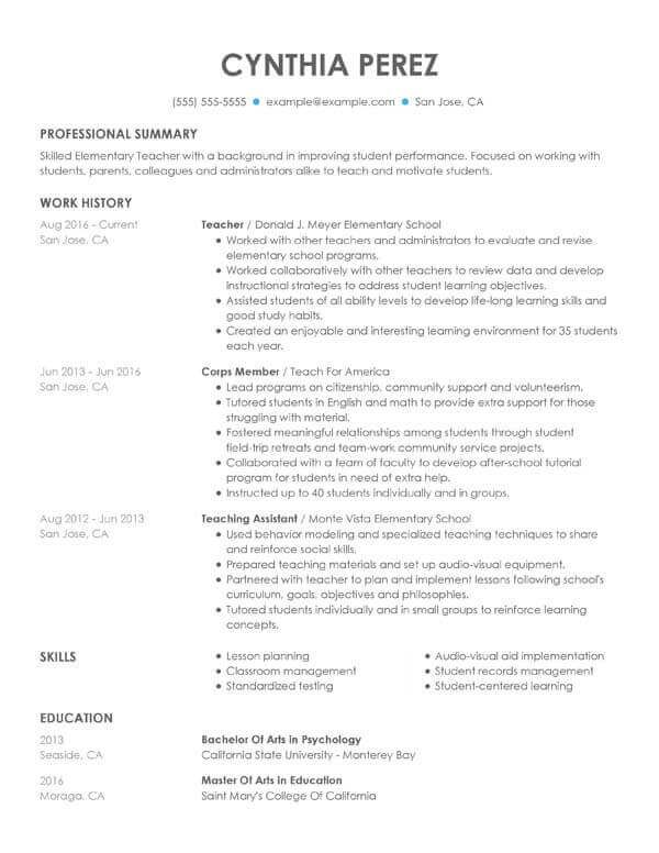 The 3 Best Resume Formats For 2020 Examples And Tips Best