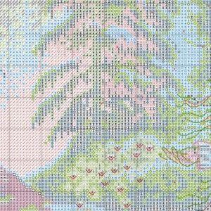 Схема вышивки Лесная колдунья (Dimensions) 1 из 6