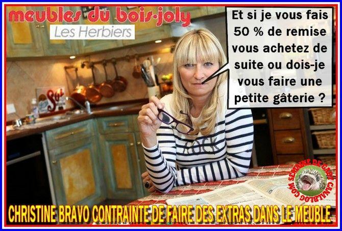 Christine Bravo En Promotion Aux Meubles Du Bois Joly Aux Herbiers En Vendee Samedi Et Dimanche Bonjour Dimanche Christine Bravo Herbier