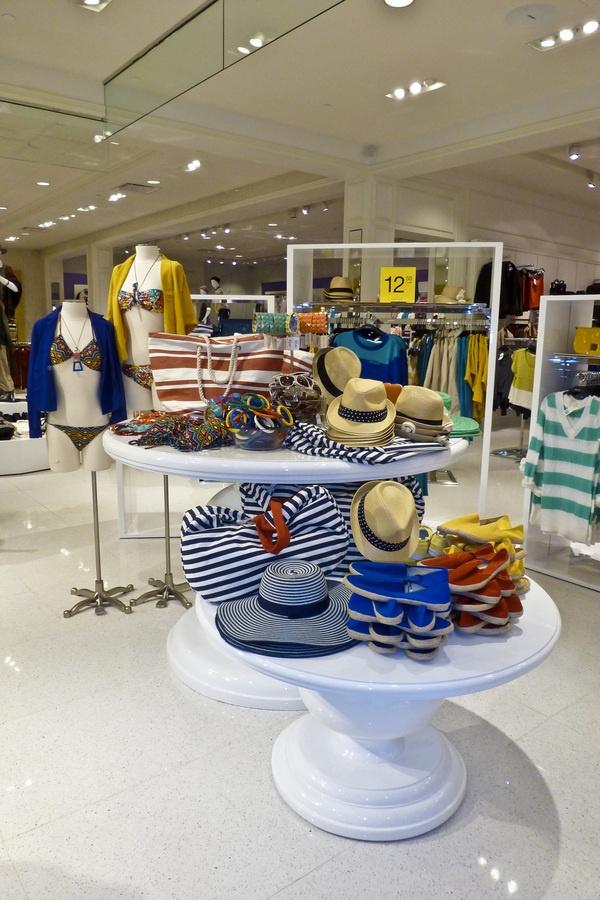 visual merchandising by wigmor gadia via behance handbag displayunderwear shopmerchandising ideasretail displaysnesting tablesround