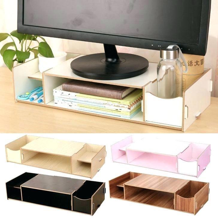 Office Desk Organization Ideas Under Desk Storage Work Desk Organization Desk Organization Office