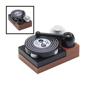 Details zu LEGO Vinyl Record Player for Minifigures Music