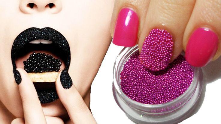 Kawiorowe paznokcie to jeden z obowiązujących obecnie trendów. Jak Wam się podoba? :)