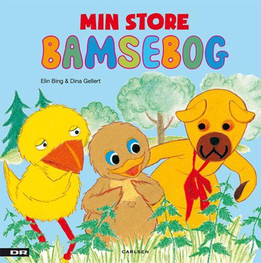 Min Store Bamsebog Min Store Bamsebog indeholder de allerbedste historier med Bamse, Kylling og Ælling. Læs bl.a. om Bamses fødselsdagsfest, og om dengang Bamse og Kylling fandt en skat.En Bamsebog til Bamsefans!