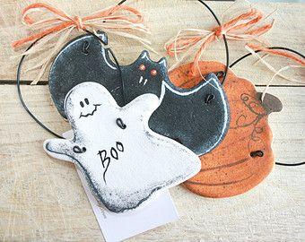 5 ' decorazioni di Halloween Primitivo sale pasta ornamenti, attaccatura di parete ornamenti, decorazioni di caduta, Halloween regalo autunno decorazioni di Halloween
