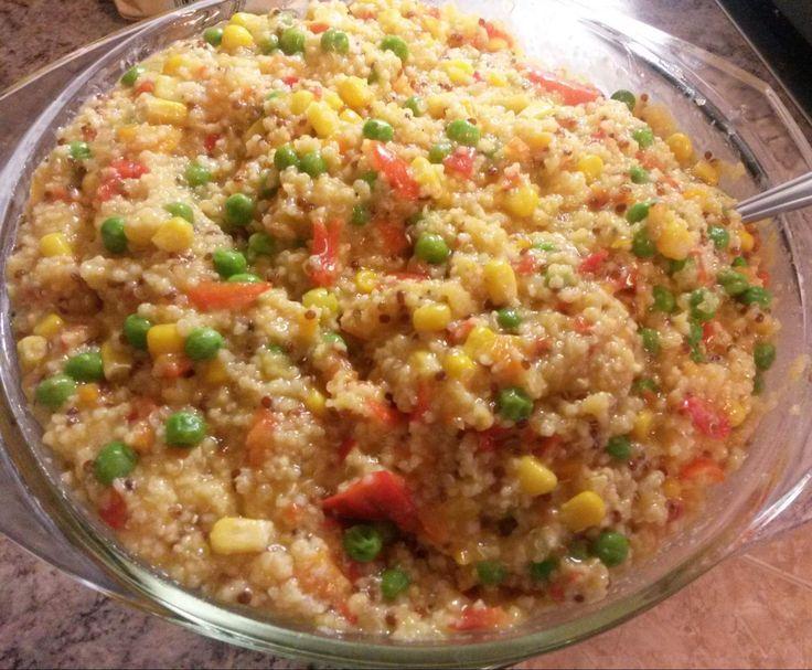 Rezept Quinoa-Hirsotto von Eu Genie - Rezept der Kategorie Hauptgerichte mit Gemüse