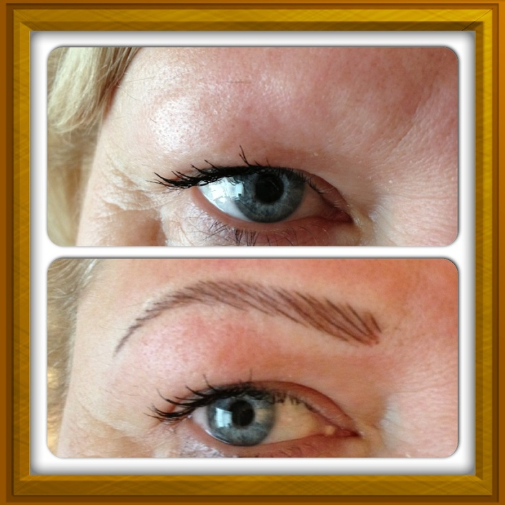Semi permanent makeup by Donna, Sheffield.