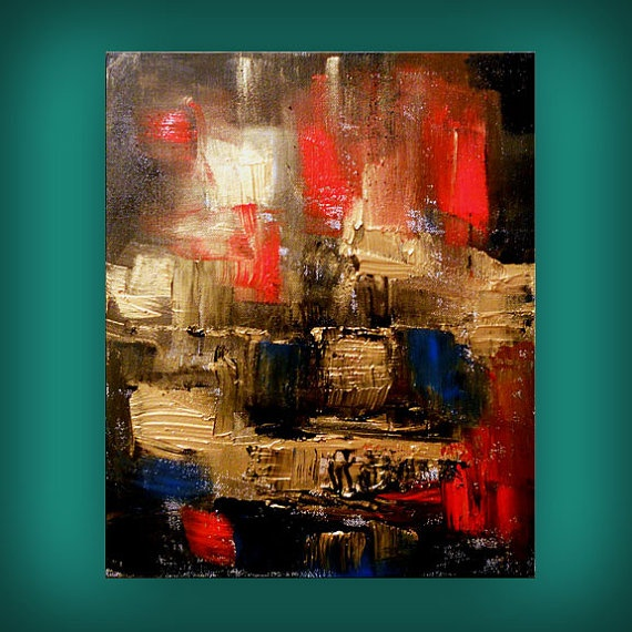 Abstract art acrylic painting best selling item wall art for Textured acrylic abstract paintings