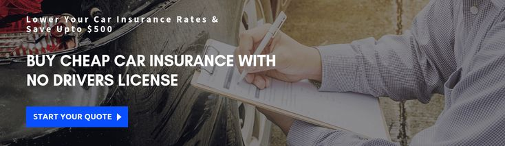 Find affordable car insurance with no license driver car